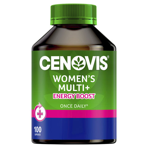 Cenovis Once Daily Women's Multi Energy Boost 100 capsules