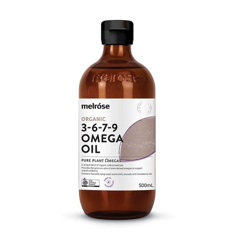 MELROSE ORGNC OMEGA OIL 500ML