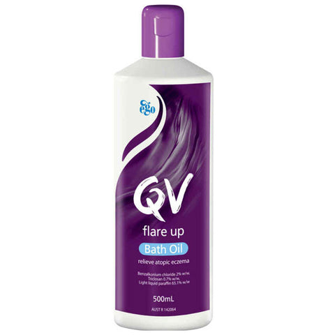 Ego QV Flare Up Bath Oil 500ml for Eczema Prone Skin