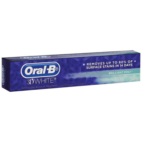 Oral-B 3D White Mint Toothpaste 95g