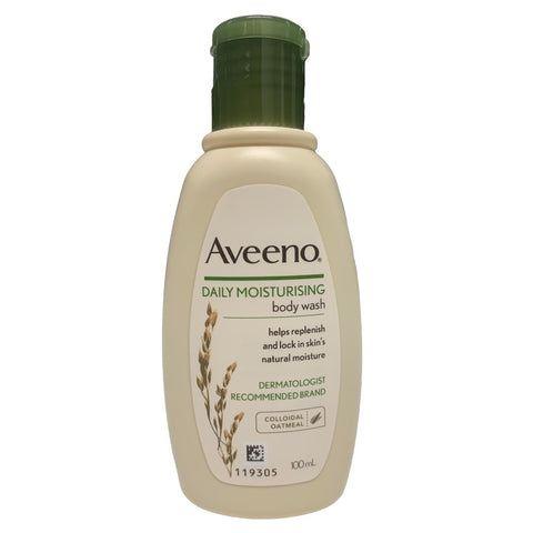 Aveeno Daily Moisturising Body Wash Colloidal Oatmeal 100mL
