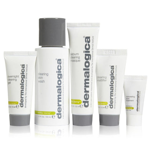 Dermalogica MediBac Adult Acne Skin Clearing Kit (5 Pieces)