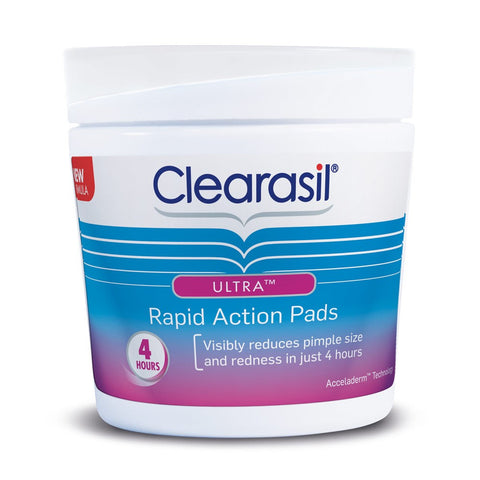 Clearasil Ultra Rapid Action Face Wipe Pads 65