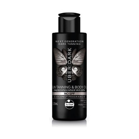 Le Tan No SPF Sun Tanning and Body Oil - 120mL