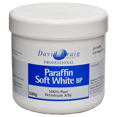 David Craig Paraffin Soft White 500g