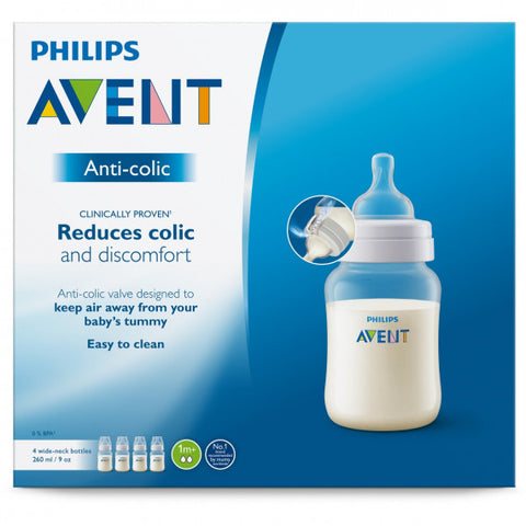 Avent Feeding Bottle 260mL - 3 Pack
