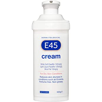 E45 Moisturising Cream for Dry Skin and Eczema (Pump format)