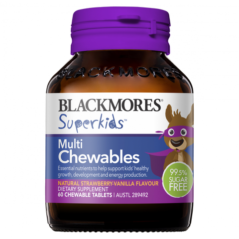 Blackmores Superkids Multi 60 Chewables