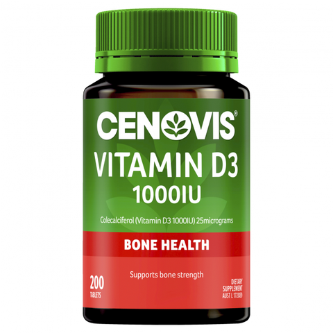 Cenovis Vitamin D3 1000iu 200 Tablets