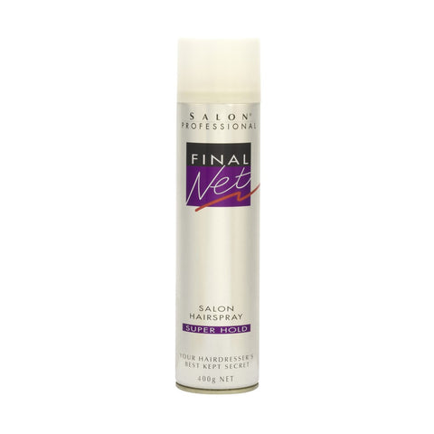 Final Net Salon Hairspray Super Hold 400g