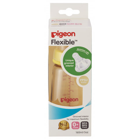 Pigeon Slim Neck Peristaltic PPSU Bottle 160ml