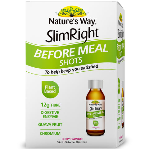 Nature's Way Slim Right Before Meal Shots 50ml X 10