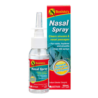 Bosisto's Eucalyptus Nasal Spray  50ml