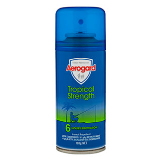 Aerogard Tropical Strength Insect Repellent - 100g