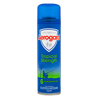 Aerogard Tropical Strength Insect Repellant 150g Aerosol
