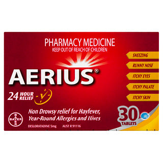 Aerius 5mg 30 Tablets