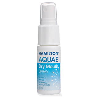 Hamilton Aquae Dry Mouth Spray - 25ml