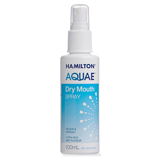 Hamilton Aquae Dry Mouth Spray - 100ml