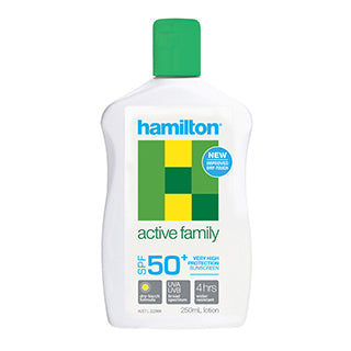 Hamilton Sun Active Family Lotion SPF 50+ - 250ml