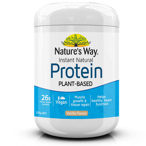 Nature's Way Instant Natural Protein Powder Vanilla 375g