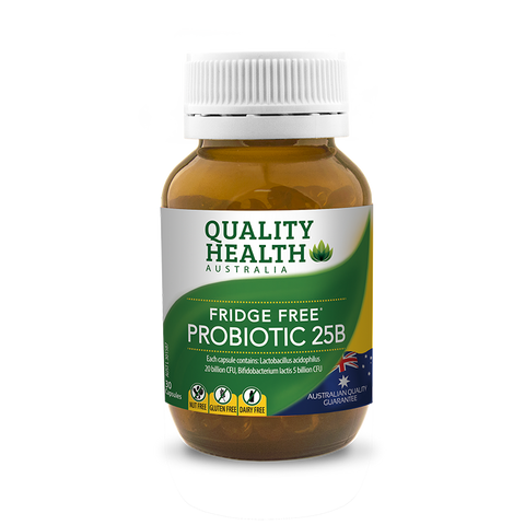 Quality Health Fridge Free Probiotic 25B 30 Caps