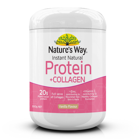 Nature's Way Instant Natural Protein with Collagen Powder 300g