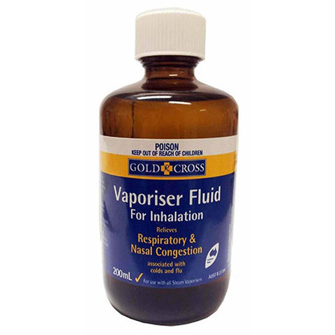 Gold Cross Vaporizer Fluid 200ml