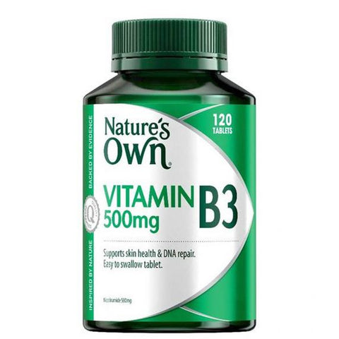 Nature's Own Vitamin B3 500mg 120 Tablets