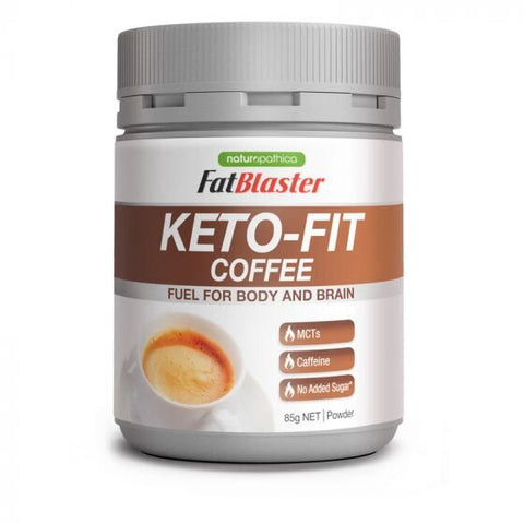 Naturopathica Fatblaster Keto Fit Coffee 85g