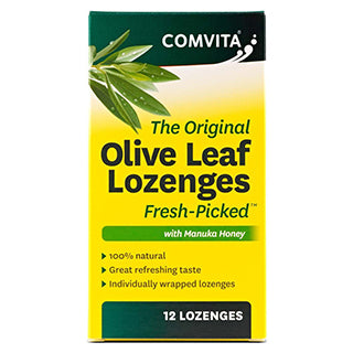 Comvita Olive Leaf Oral Drops - 12 Lozenges