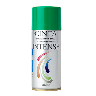 Cinta Intense Colour Hairspray - Green 100g