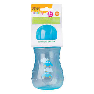 Pharmacy Care Cup with Soft Spout - Blue