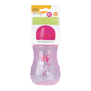 Pharmacy Care Cup with Soft Spout - Pink