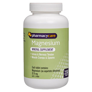Pharmacy Care Magnesium 250 Tablets