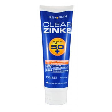 Key Sun Clear Zinke SPF 50+ 100g