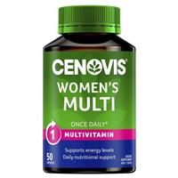 Cenovis Women's Multi - Once-Daily Multivitamin - 50 Capsules