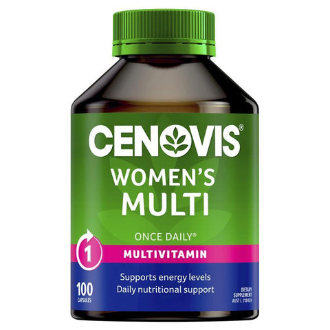 Cenovis Women's Multi - Once-Daily Multivitamin - 100 Capsules