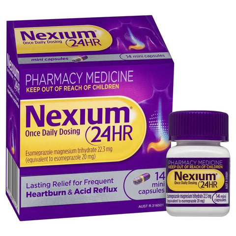 Nexium 24hr 20mg 14 Mini Capsules
