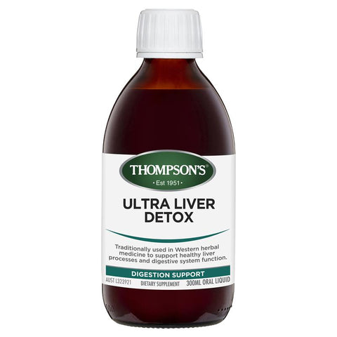 Thompson's Ultra Liver Detox Liquid 300ml