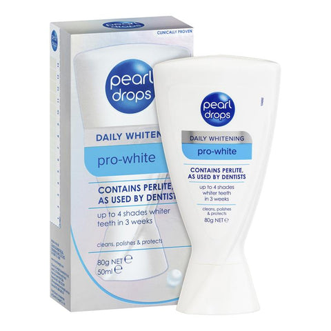 Pearl Drops Pro-White Whitening Toothpaste 80g