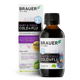 Brauer Baby & Child Cold & Flu Oral Liquid 100ml