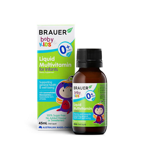 Brauer Baby & Kids Liquid Multivitamin for Infants 45ml