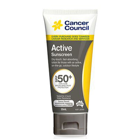 CANCER COUNCIL Active Sunscreen Traveller SPF50+ 35 mL