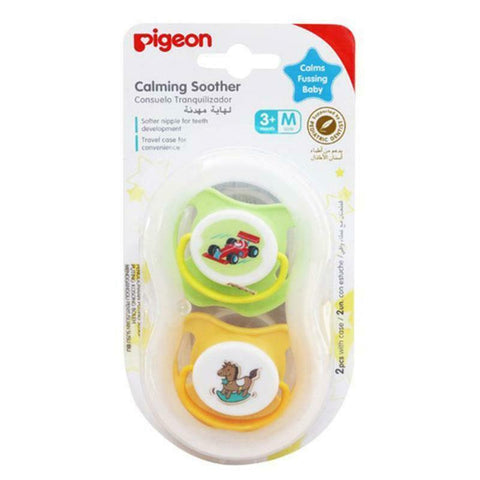 Pigeon Calming Soother Medium Twin Pack