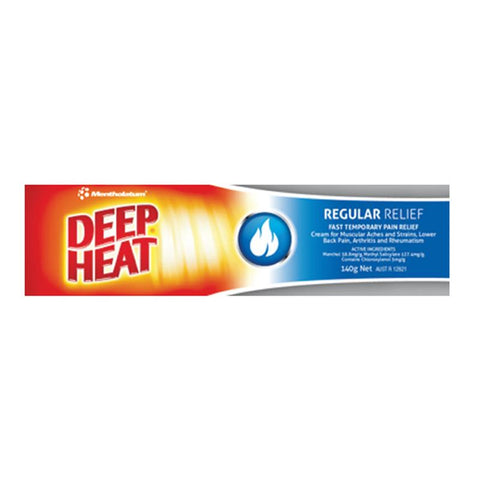 Deep Heat Regular Relief cream 140g