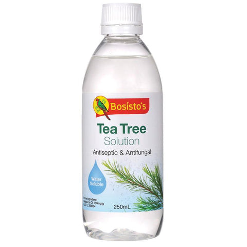 Bosistos Tea Tree Solution 250ml