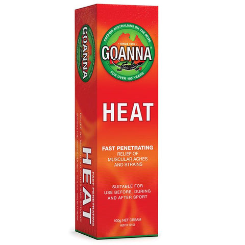 Goanna Heat Rub Cream 100g