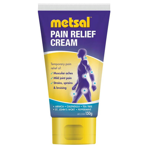 Metsal Pain Relief Cream 150g