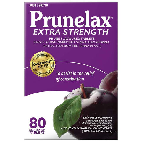 Prunelax 80 Tablets