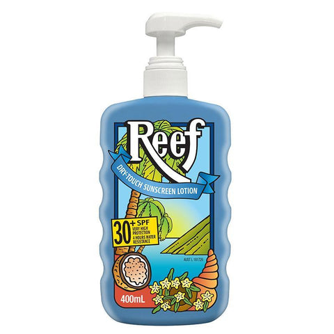 Reef SPF 30+ Dry Touch Sunscreen Lotion 400ml
